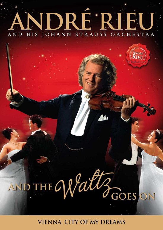Cover van de film 'Andre Rieu - And The Waltz Goes On'