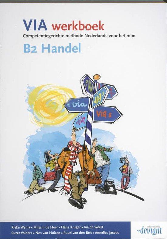 VIA - B2 Handel - Werkboek - Rieke Wynia |