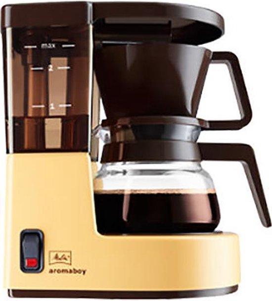 Melitta Aromaboy - Filter-koffiezetapparaat - Geel