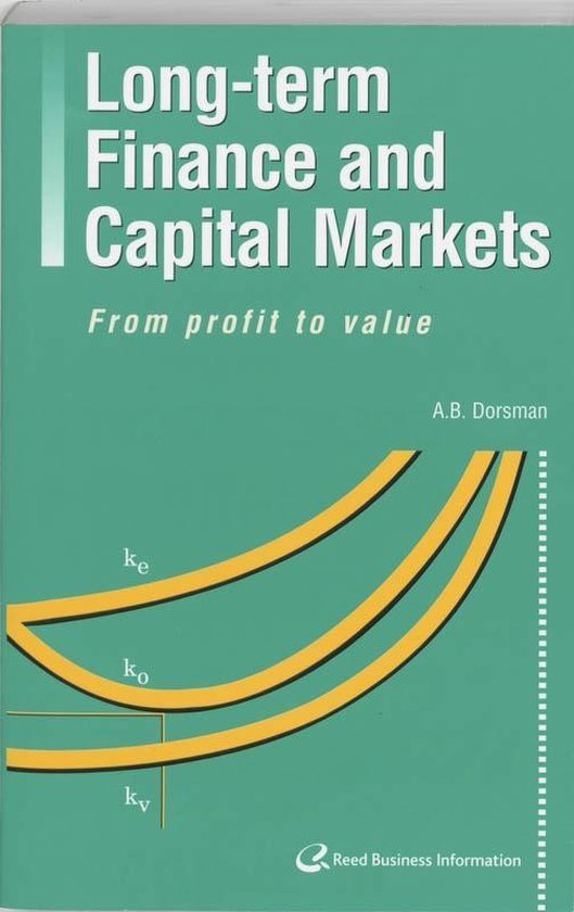 Long-term finance and capital markets - A.B. Dorsman |