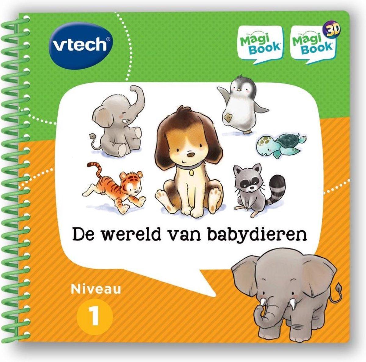 VTech MagiBook Activiteitenboek - De Wereld van Babydieren - Educatief Babyspeelgoed