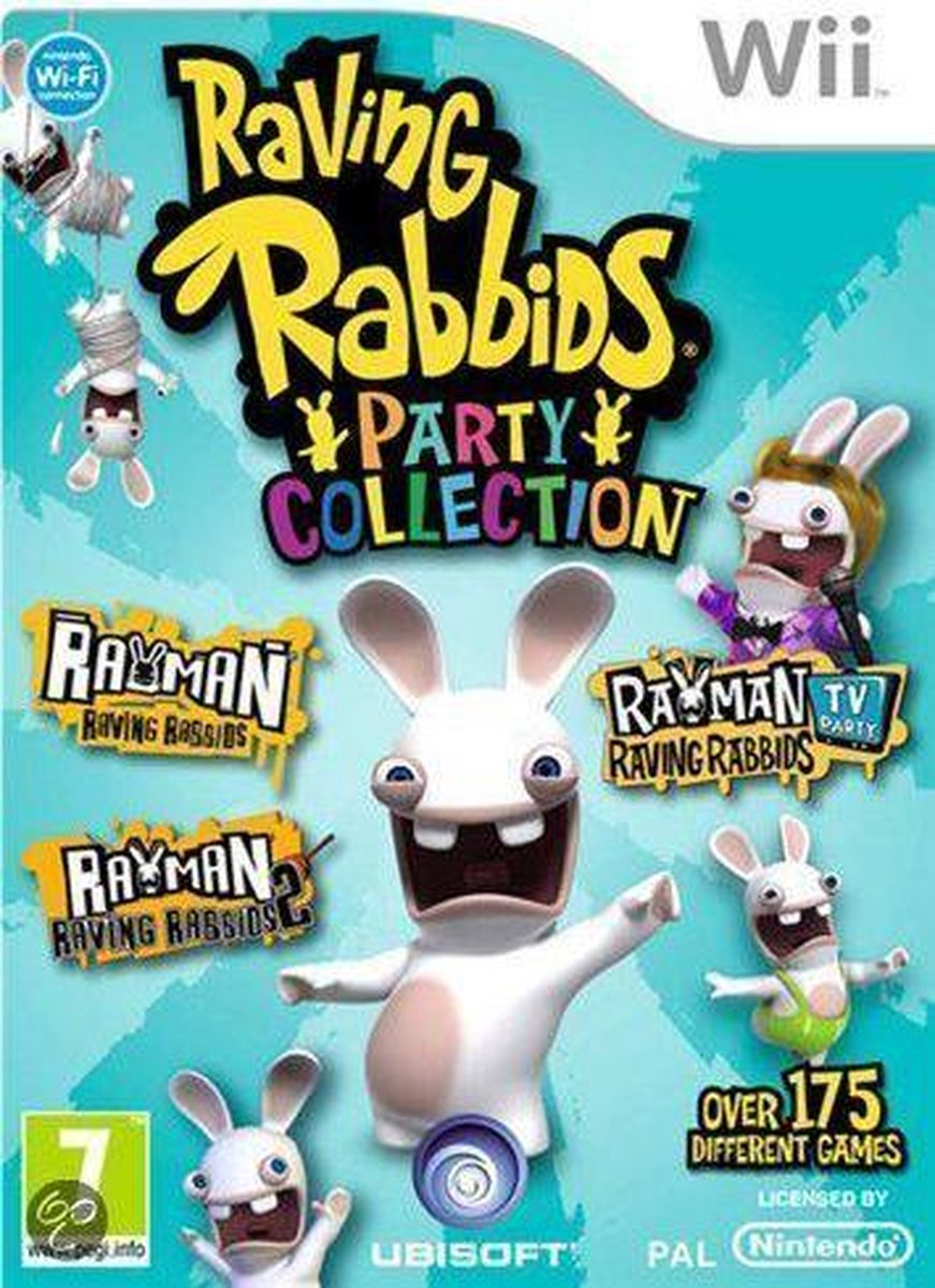 Rayman: Raving Rabbids - Party Collection - Ubisoft