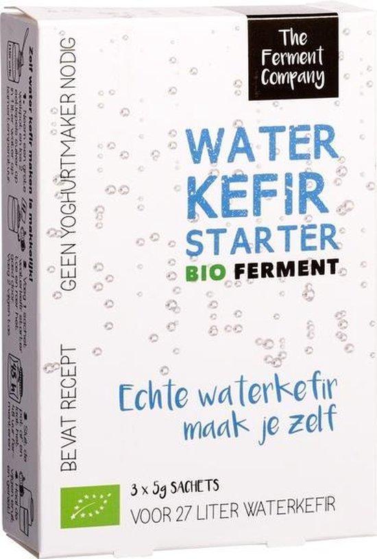 Kefir starter voor water 3 x 5 gram