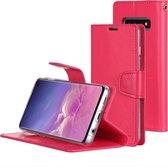 Let op type!! KWIK GOOSPERY SONATA DIARY horizontaal Flip lederen case voor Galaxy S10  met houder & kaartsleuven & portemonnee (rood)