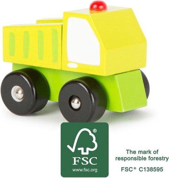 Houten speelgoed vrachtauto Voertuig FSC Auto speelgoed houten speelgoed vanaf 18 maanden