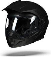 Scorpion ADX-1 SOLID Zwart Systeemhelm - Motorhelm - Maat XL