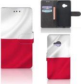 Bookcase hoesje HTC U Play Polen