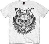 Bullet For My Valentine Heren Tshirt -XL- Eagle Wit
