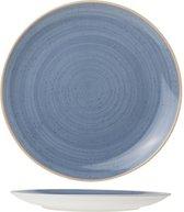 Cosy&Trendy For Professionals Terra Plat Bord - Ø27 cm - Blauw