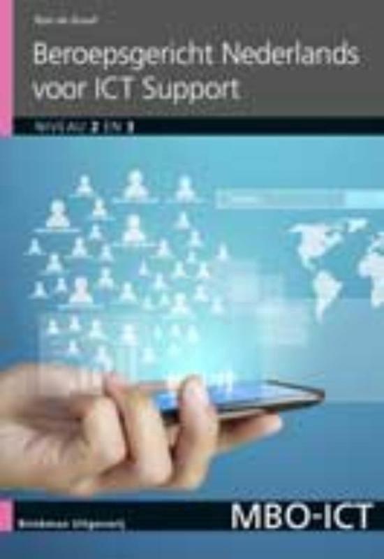 MBO-ICT - Beroepsgericht Nederlands voor ICT support Niveau 2 en 3 - Ron de Graaf |