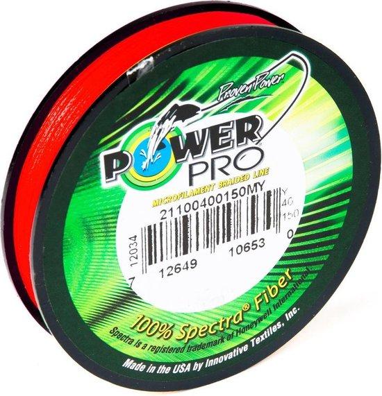Power Pro Dyneema | Red | 0.15mm | 455m