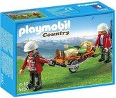 PLAYMOBIL Country Reddingsteam met Brancard - 5430