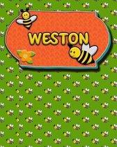 Handwriting Practice 120 Page Honey Bee Book Weston