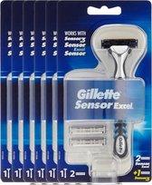 Gillette Sensor Excel Scheerapparaat Voordeelverpakking