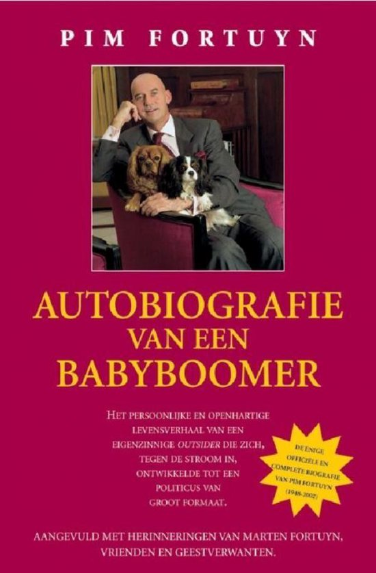 Autobiografie van een babyboomer - Pim Fortuyn |