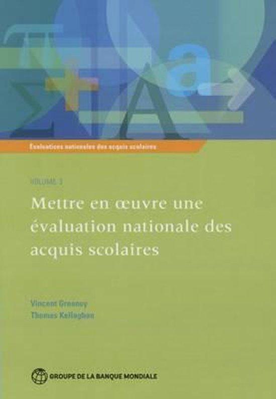 Evaluation nationale des acquis scolaires, Volume 3