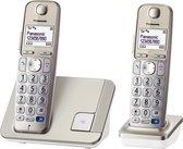 Panasonic KX-TGE212NLN - Duo DECT telefoon - champagnekleurige seniorentelefoon