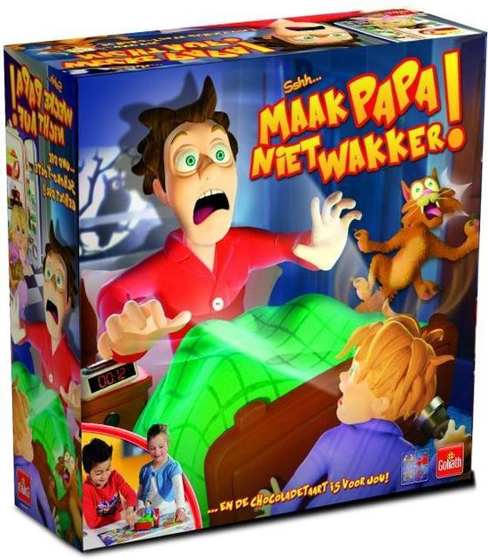 Afbeelding van het spel Shhh! Maak papa niet wakker