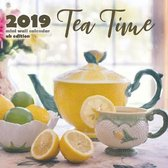 Tea Time 2019 Mini Wall Calendar (UK Edition)
