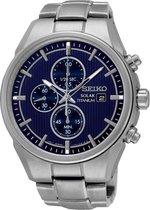 Seiko Chronograph SSC365P1 Heren Horloge - 42.5 mm