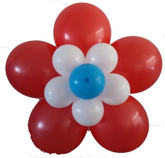 Verrassend bol.com | Ballonnen bloem zelf maken, rood-wit-blauw TP-68