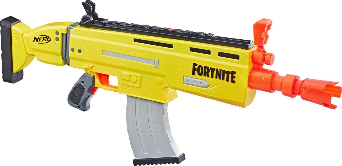 NERF blaster Fortnite AR L 75 cm jongens geel/oranje