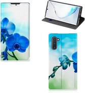Samsung Galaxy Note 10 Smart Cover Orchidee Blauw