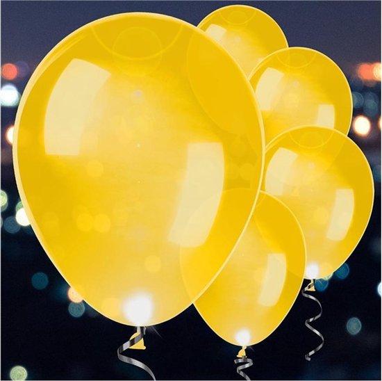 Ballonnen - LED Goud - 5 stuks