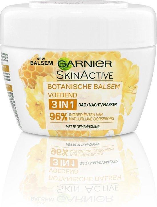 Garnier SkinActive Botanische 3in1 Balsem Honing -  140 ml - Voedend