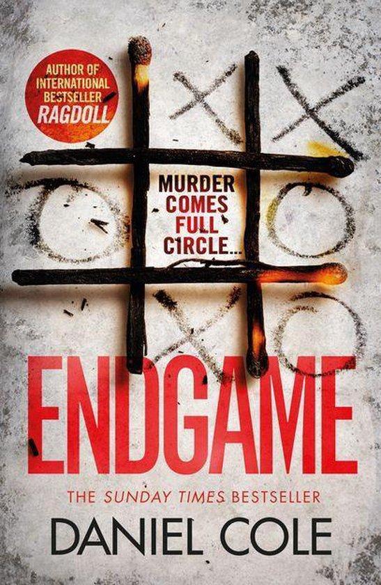Boek cover Endgame van Daniel Cole