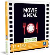 Bongo Bon Nederland - Movie and Meal Cadeaubon - Cadeaukaart cadeau voor man of vrouw | 17 bioscopen en 50 restaurants