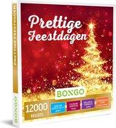 Bongo Bon Nederland - Prettige Feestdagen Cadeaubon - Cadeaukaart cadeau voor man of vrouw | 12000 belevenissen: culinair, wellness, overnachting, sportief en meer
