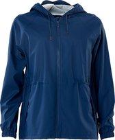 Rains W Jacket 1268 Regenjas Vrouwen - Blauw - Maat S/M