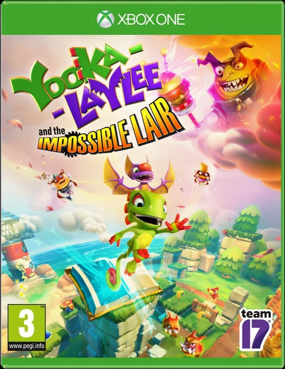 Yooka-Laylee & The Impossible Lair – Xbox One