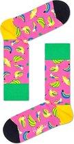 Happy Socks - Banana Bird Sock - Roze - Maat 41-46
