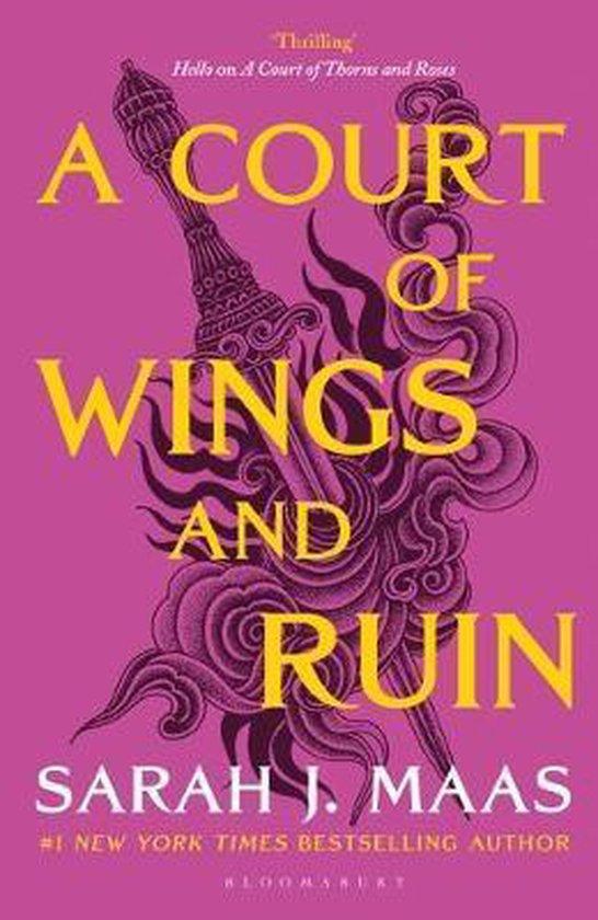 Boek cover A Court of Wings and Ruin van Sarah J. Maas (Paperback)