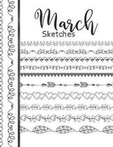 March Sketches: Astrology Sketchbook Activity Book Gift For Women & Girls - Daily Sketchpad To Draw And Sketch In As The Stars And Pla
