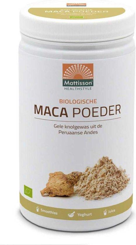 Mattisson / Active Maca Poeder Biologisch – 1000 gram