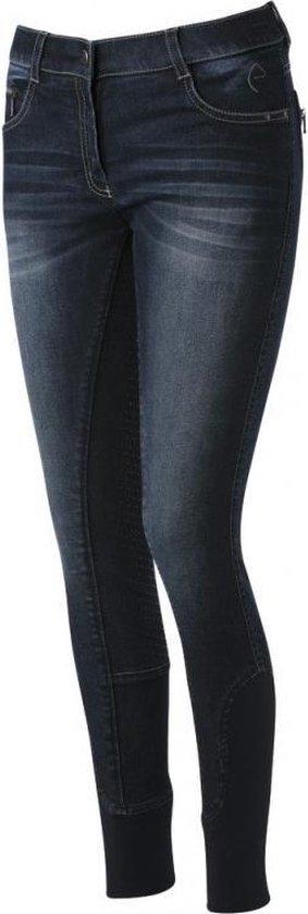 Equitheme Rijbroek Texas Jeans FullGrip Siliconen
