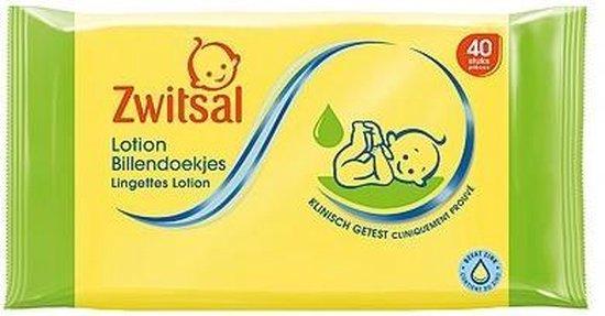 Zwitsal Baby Billendoekjes Lotion 12x40 doekjes Voordeelverpakking - Zwitsal