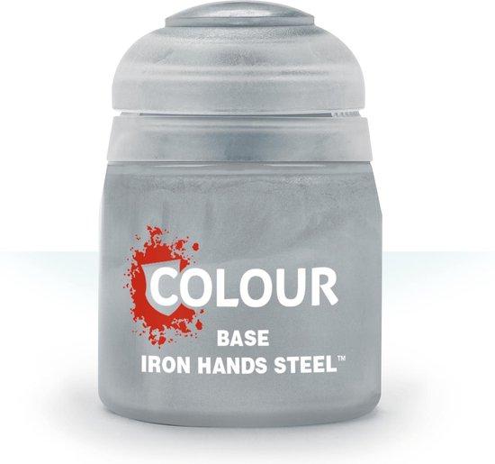 Afbeelding van het spel Citadel Base: Iron Hands Steel (12ml)