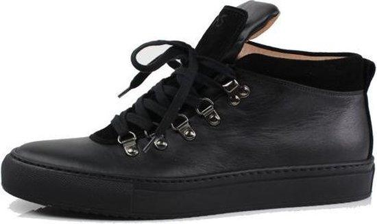 Kobe sneaker Hiker mid top lace zwart