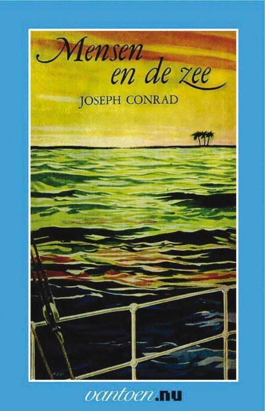 Boek cover Mensen en de zee van Joseph Conrad