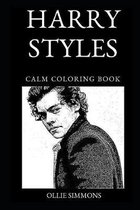 Harry Styles Calm Coloring Book