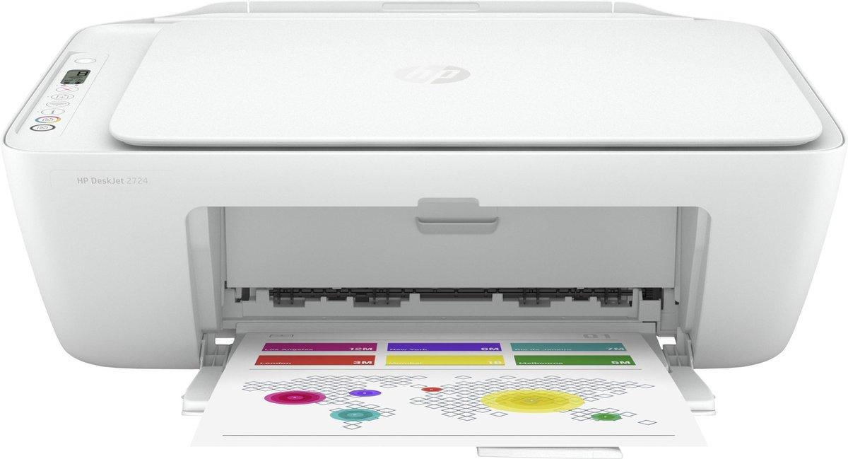 HP DeskJet 2724 - Inkjetprinter