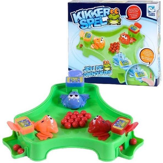Spellen   Kinderspellen - Clown Kikkerspel