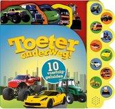 Geluidenboek Toeter Onderweg met 10 Voertuiggeluiden