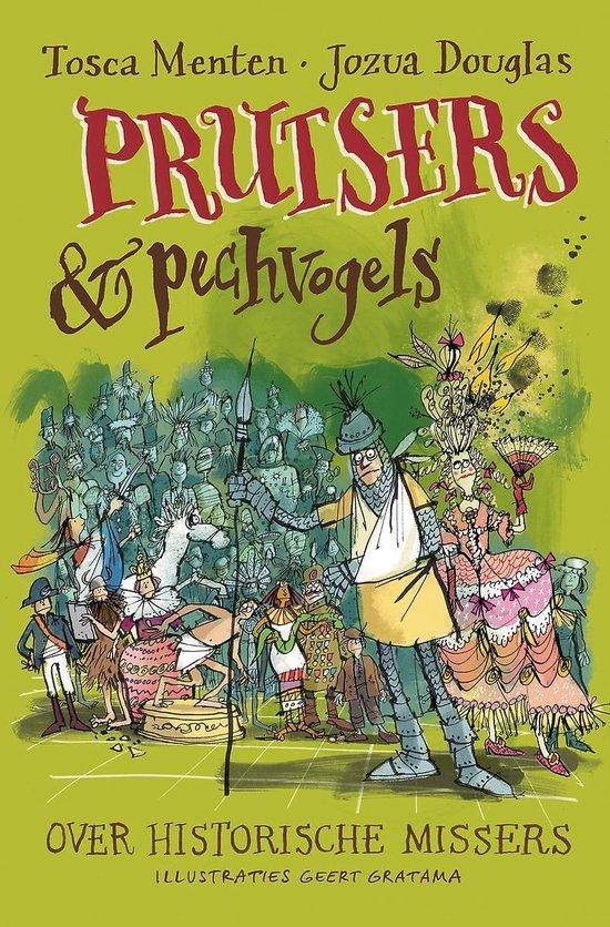 Boek cover Prutsers en pechvogels van Tosca Menten (Hardcover)