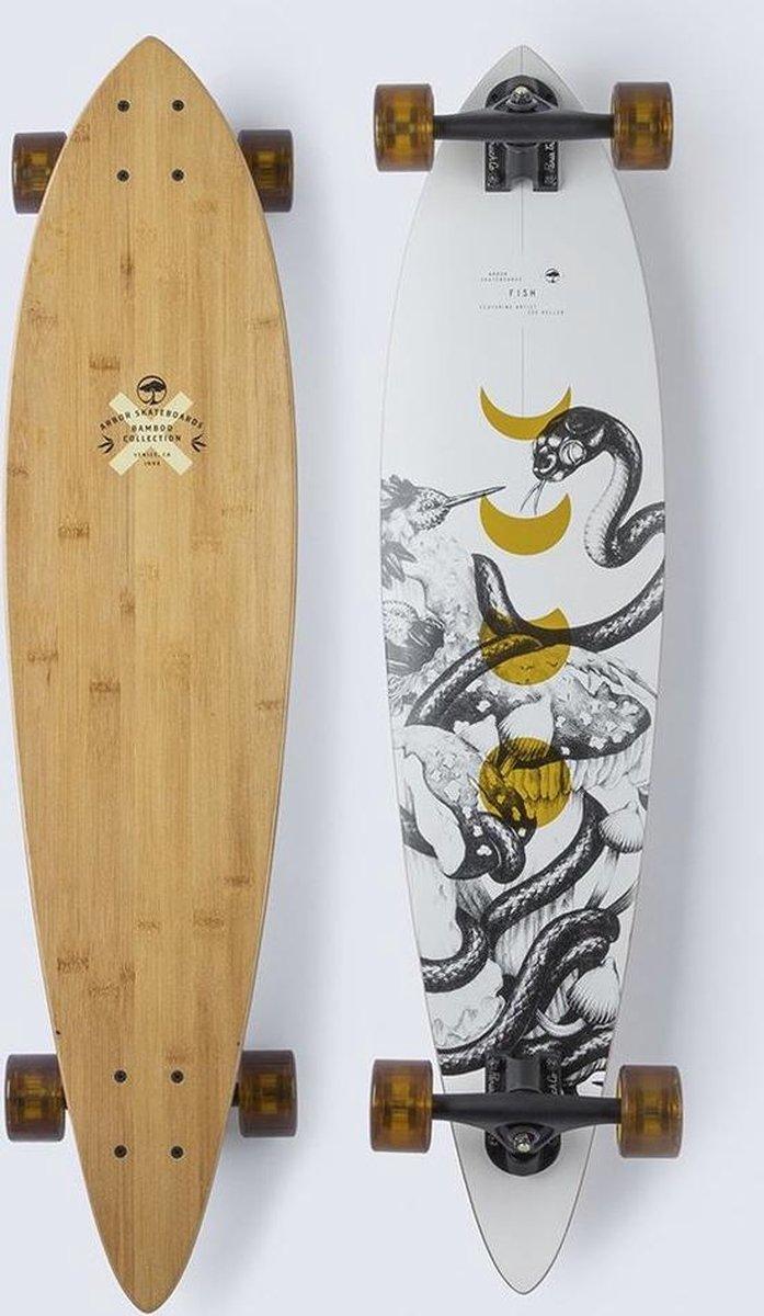 """Arbor Bamboo Fish 37"""" longboard"""