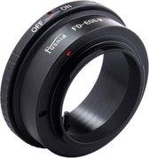 Adapter FD-EOS.M: Canon FD lens - Canon EOS M Camera